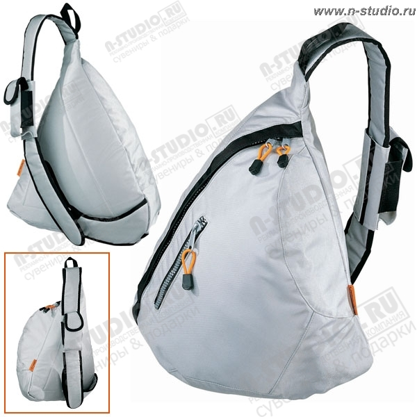 Рюкзак с одной наплечной лямкой под нанесение логотипа promo.