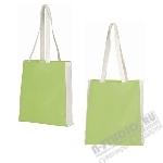 Зеленая пляжная сумка текстиль оптом.