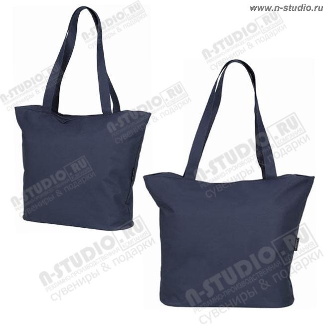 Синие рекламные сумки пляжные оптом