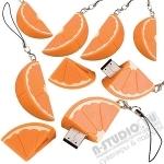 Флешки «Апельсин» usb флэш карты с логотипом оптом