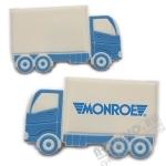 Недорогие флешки «Грузовик» под логотип оптом usb флэш накопители грузовики цены