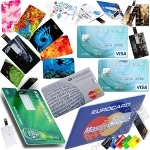 Флешка визитка с логотипом оптом usb флэш кредитные карты оптом