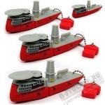Usb флеш накопитель «Корабль» под логотип оптом флешки цены со склада
