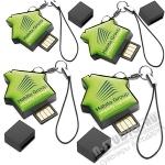 Флэшка «Домик» с логотипом оптом usb-флеш карты mini цена со склада