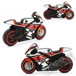 Usb флэш карты «Мотоцикл YAMAHA спорт» под логотип оптом мото usb флэшки